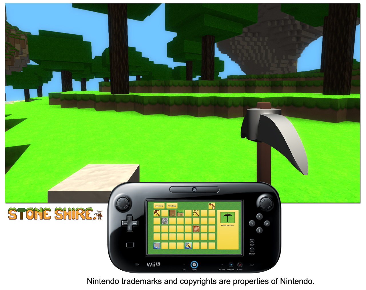 Stone Shire - Managing inventory with Wii U™ GamePad controller